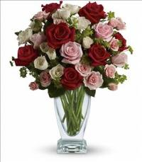 Cupids Creation by Teleflora by US Teleflorist .com- Associated with other USA Teleflorists