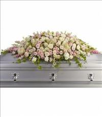 Always Adored Casket Spray by US Teleflorist .com- Associated with other USA Teleflorists