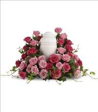 Bed of Pink Roses by US Teleflorist .com- Associated with other USA Teleflorists