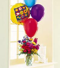 Flowers & Balloons by US Teleflorist .com- Associated with other USA Teleflorists