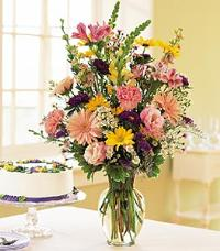 Birthday Pastels by US Teleflorist .com- Associated with other USA Teleflorists