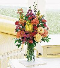 Small Mixed Vase Arrangement by US Teleflorist .com- Associated with other USA Teleflorists