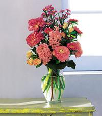 Pink Spring Bouquet by US Teleflorist .com- Associated with other USA Teleflorists