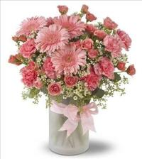 Purely Pinks by US Teleflorist .com- Associated with other USA Teleflorists