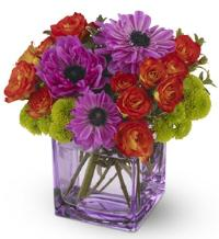 Brilliant Blossoms by US Teleflorist .com- Associated with other USA Teleflorists