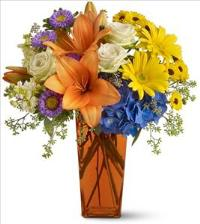 Bright Wishes by US Teleflorist .com- Associated with other USA Teleflorists