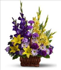 Basket of Memories by US Teleflorist .com- Associated with other USA Teleflorists