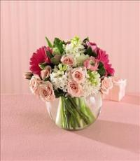 Pink Splendor™ Bouquet by US Teleflorist .com- Associated with other USA Teleflorists