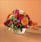 Summer in the Park™ Basket by US Teleflorist .com- Associated with other USA Teleflorists